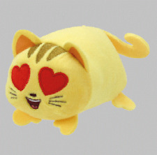 "TY Beanie Babies Teeny Tys Stackable Cat w/ Heart Eyes Emoji Movie 3"" Plush NEW"