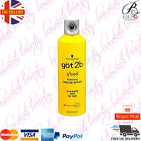 Schwarzkopf Got2B Glued Blasting Freeze Spray Screaming Hold Freeze Fix 300ml