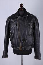 Harley-Davidson Vintage Leather Biker Jacket Size L