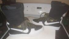 NikeLab Nike Air Force 1 AF1 Downtown Hi ACRONYM Black Sz 7 649941 001 8.5 wmns