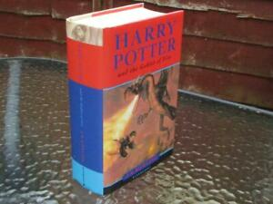 RARE HARRY POTTER & THE GOBLET OF FIRE 1ST EDITION FIRST STATE WITH ERRORS BOOK