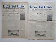 AILES 1940 979 WWII BALLON D'OBSERVATION POSTE AERIENNE BOUGIE HYDRAVION HA-138