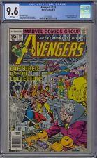 Avengers #174 CGC 9.6 NM+ Wp Vs. Collector Marvel Comics 1978 George Perez Cover