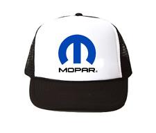 Mopar hat Trucker Hat mesh hat black New racing hat