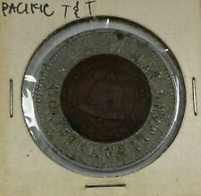Vintage Pacific Telephone Telegraph Bell Encased Token Workman Is it Safe?