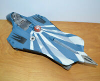 "STAR WARS THE CLONE WARS ANAKIN STARFIGHTER Ship For 3.75"" Action Figures 2003"