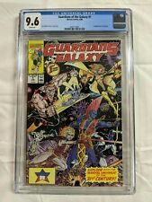 GUARDIANS OF THE GALAXY 1 CGC 9.6 (1990) Marvel White Pages 1st Taserface  Yondu