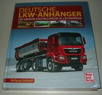 Bildband Deutsche LKW Anhänger - Die Grosse Enzyklopädie aller Marken Buch Neu!