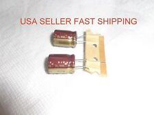 2 Pieces 1000uf mfd electrolytic 105C ELNA Capacitor 35V Radial  high quailty