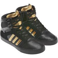 Adidas BBNeo HiTop X  Schuhe Sneaker Turnschuhe Gr. 36-47 schwarz / gold NEU