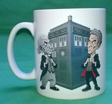 FAB & NEW 'The Doctor Falls' mug. Doctor Who, Hartnell & Capaldi. For Charity