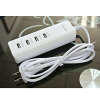 4-Port USB Home Wall Travel AC Charger Power Adapter US Plug For iPhone 6S Plus