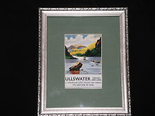 """Framed Travel Postcard for """"Ullswater"""" (LNER by Rail) Ref 854"""
