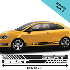 Seat Racing Stripe Stickers For Car Vinyl Decal/Tuning Size 183x10cm