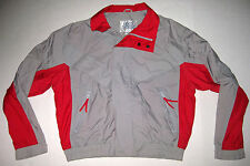 Vintage Levi's Thunder River Gray Red Windbreaker M 100% Nylon