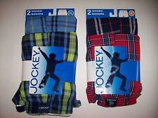 Jockey Underwear Underpants Boys 2pr Classic Woven Boxers NIP