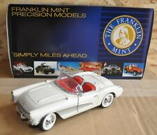 "BOXED FRANKLIN MINT LIMITED ED 1 : 24 "" 1956 CORVETTE "" MODEL CAR & CERTIFICATE"