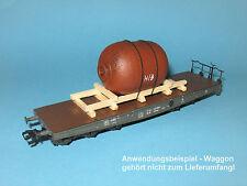 Ladegut H0 – Tank / Behälter in rostiger Ausführung (L=80 mm) für Güterwagen
