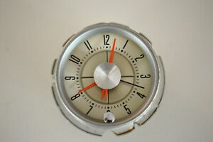 1960 Ford Thunderbird Dash Clock Restored