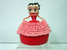 New Betty Boop in Pink Gown Elegant Cover Box Very Rare & Retired Figurine GB914