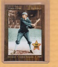 Ty Cobb 1905 Detroit Tigers rookie year limited edition Monarch Corona near mint