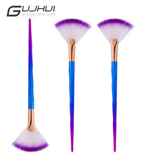 1Pc Fashion Women's Fan Brush Diamond Portable Slim Professional Makeup Brushs