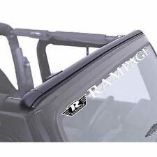 Rampage 901001 Windshield Channel Header fits 87-95 Wrangler