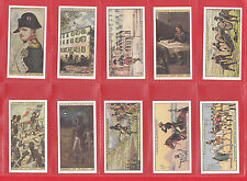 JOHN PLAYER & SONS - SET OF 25 NAPOLEON CARDS       (REPROS BY VICTORIA GALLERY)
