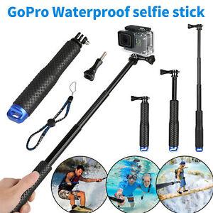 Wasserdicht Stativ Selfie Stick Stange Einbeinstativ GoPro Hero Kamera 7 6 5 4 3