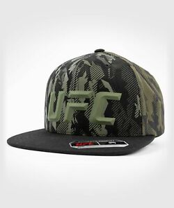 UFC VENUM MMA HAT CAP AUTHENTIC FIGHT NIGHT UNISEX WALKOUT HAT - CAMO KHAKI
