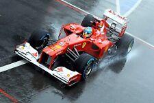 Ferrari F1 Formula One Automotive Car Wall Art Giclee Canvas Print Photo (217)