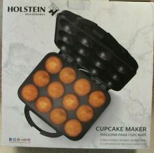 Holstein Housewares Cupcake Maker, Black, HU-09006B