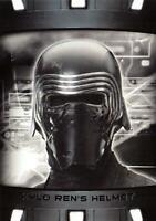 Star Wars Last Jedi Series 2 ITEMS ARTIFACTS Insert IA13 / KYLO REN'S HELMET