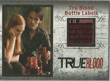 "True Blood Archives - R2 ""Tru Blood Bottle Label"" Relic Card #208/299"