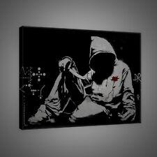 Canvas Poster Foto Bild Wandbild Leinwandbild BANKSY STREET ART JUGEND 3FX2029O4
