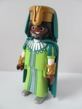 Playmobil HIstory/Palace/Castle Royal figure: African King in green robes NEW