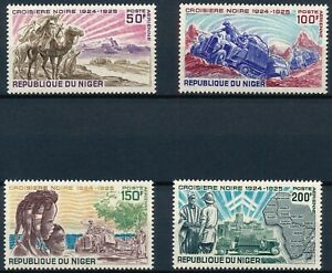 [P16159] Niger 1969 : Good Set Very Fine MNH Airmail Stamps