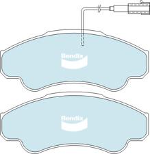 Brake Disc Pad Set  Bendix DB2045 HD For FIAT DUCATO 230 2.8L 244 2.3L 2.8L