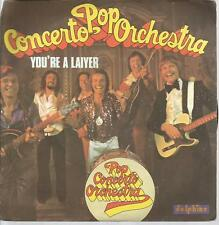 45 RPM 2 Títulos / Pop Concerto Orchestra You Re a Laiyer B6