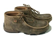 Twisted X Women'S Driving Moccasins Color Bomber/Bomber WDM0001 Size 7.5 Wide