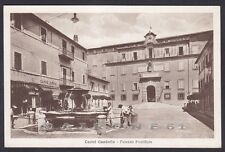 ROMA CASTEL GANDOLFO 19 PALAZZO PONTIFICIO - PAPA - FONTANA Cartolina