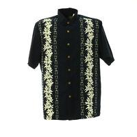 Herren Hemd Kurzarm Größe M Vintage Print Shirt Freizeit