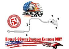 Resonator & Muffler for I30 & Maxima 3.0L Before 3-99 California Emissions ONLY