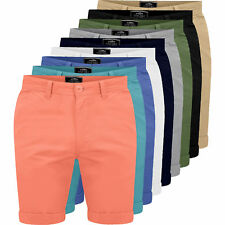 Mens Chino Shorts Casual Fine Twill Cotton Cargo Combat Half Pant Summer New