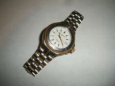 Vintage Stainless Steel Watch from estate Works with original box Silvertone