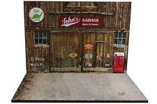 Diorama Western Garage - 1/24ème - #24-2-E-E-012