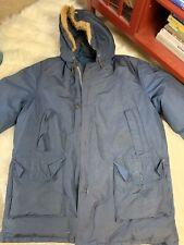 Teton Mountain Parka Coat By Woolrich Vtg XL