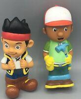 Handy Manny And Jake Bath Tub Toy Lot Disney