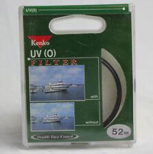 Kenko UV (0) 52mm Filter Ultraviolet Camera Filter 0302UV Brand New