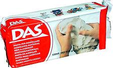 Desecación por aire de arcilla Para Modelar Das-Blanco-Paquete de 500 gramos T48